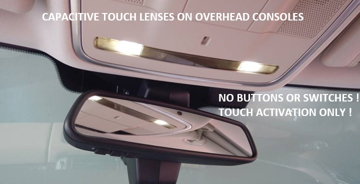 capacitive touch lenses